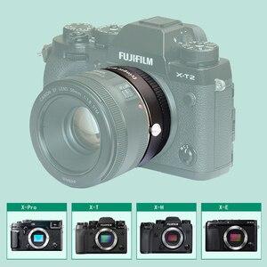 Image 2 - Fringer EF FX2 Pro II פוקוס אוטומטי הר עדשת מתאם מובנה אלקטרוני צמצם עבור Canon EOS סיגמא עדשה כדי Fujifilm FX מצלמה