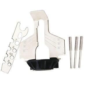 Image 5 - Kit de afilado de motosierra, amoladora eléctrica, juego de accesorios de pulido, herramienta de cadenas CLH @ 8