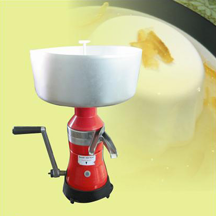 1PC Hot sell Manual milk cream separator,Milk separator machine with Roller speed 9000 - 10000r/min1PC Hot sell Manual milk cream separator,Milk separator machine with Roller speed 9000 - 10000r/min