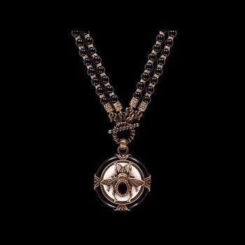 Европейский Винтажный дизайн насекомых (два вида способа ношения) ожерелье