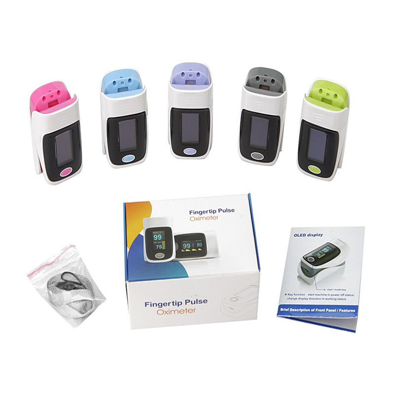 Finger Pulse Oximeter Monitoring Pulse Blood Pressure Monitor Pulse Oximeter Portable Saturation Pulsioximetro Home Health Care