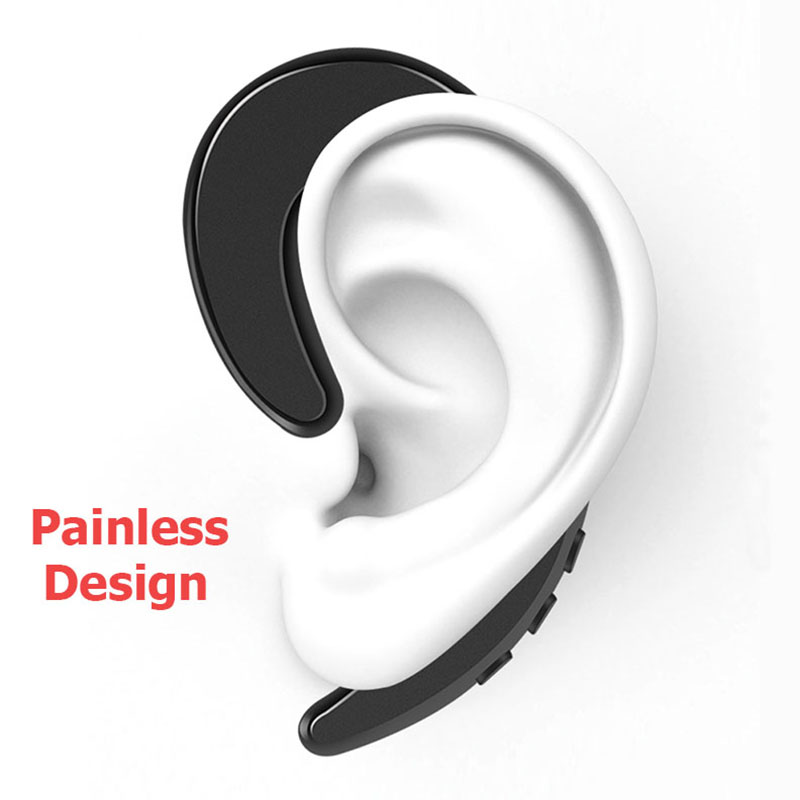 YOU FIRST Wireless Headphone Bluetooth Earphone Ear Hook Painless Headset Blutooth Sport Headphones For Phone iPhone Xiaomi 3