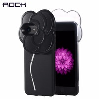 ROCK Selfie Led Light Case For IPhone 7 6 6s Plus Rhinestone Selfie Case With Flash