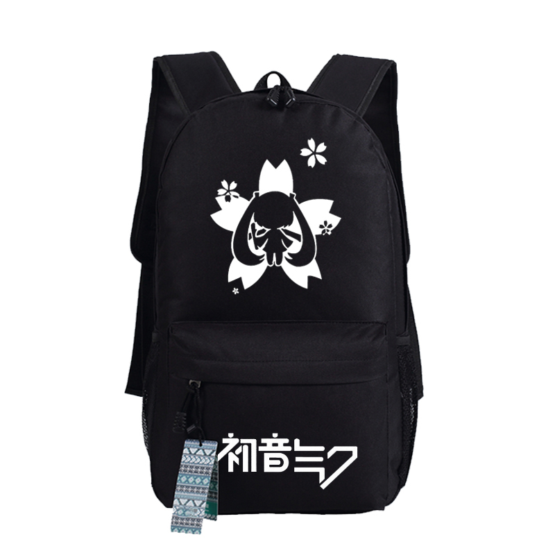 New Vocaloid Hatsune Miku Travel Laptop Backpack Kagamine Rin/Len Cosplay Oxford Bag College School Bags Rucksack стоимость