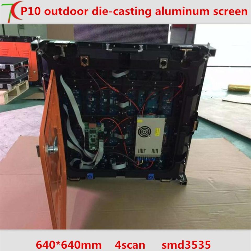 640mm*640mm indoor 4scan p10 die-casting aluminum cabinet display ,10000dots/m2640mm*640mm indoor 4scan p10 die-casting aluminum cabinet display ,10000dots/m2