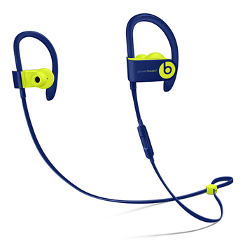 Apple Powerbeats3, Wireless, Ear-hook, In-ear, Binaural, Intraaural, Blue, Lime Sports Earphones