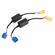 2x H4 9003 HB2 EMC Car LED HID Decoder Canbus Headlight Fog Light DRL IC No Error Load Resistor No Flickering Warning Canceller цена