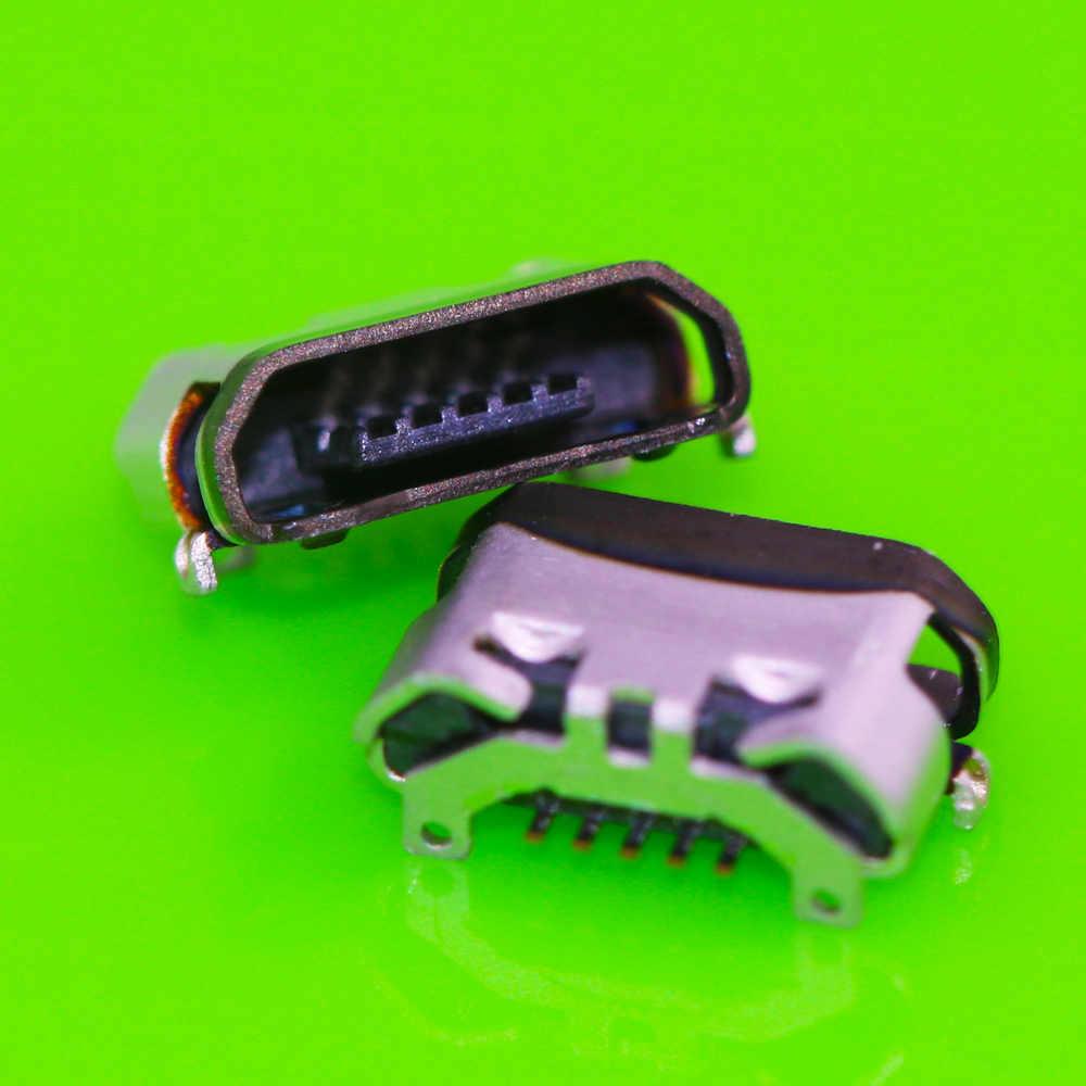 2x ل موتورولا موتو نيكزس 6 XT1100 XT1103 الأصلي العلامة التجارية الجديدة المصغّر usb مقبس متفرع موصل لوحة الدوائر المطبوعة حوض شحن ميناء استبدال