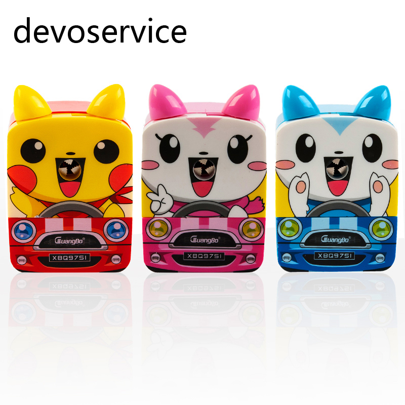 Cute Pet Student Pencil Sharpener Cartoon Car Animal Print Office U0026 School  Supplies Useful Sharpener For Kids