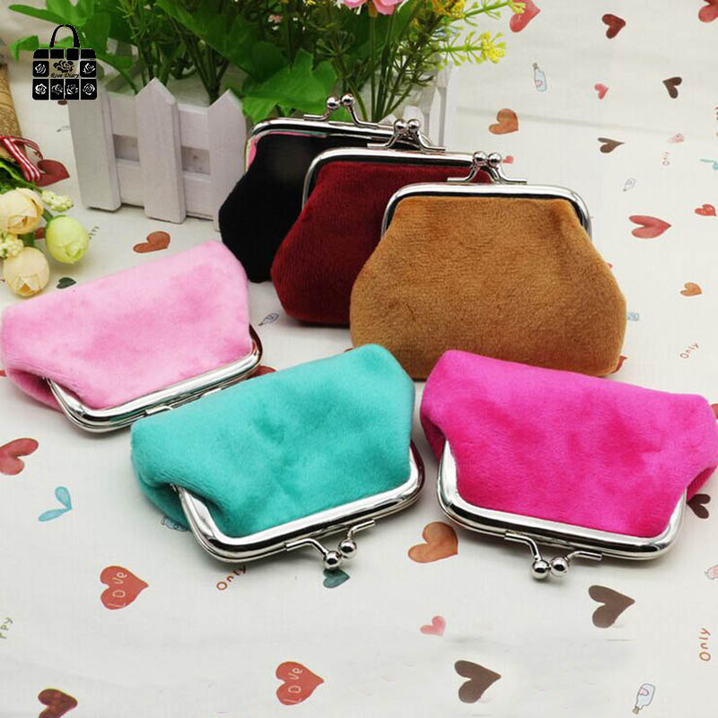 Rosediary Purse Handbag Wallet Candy-Color Women Coin-Bag Girls with Zero Lady Pouch