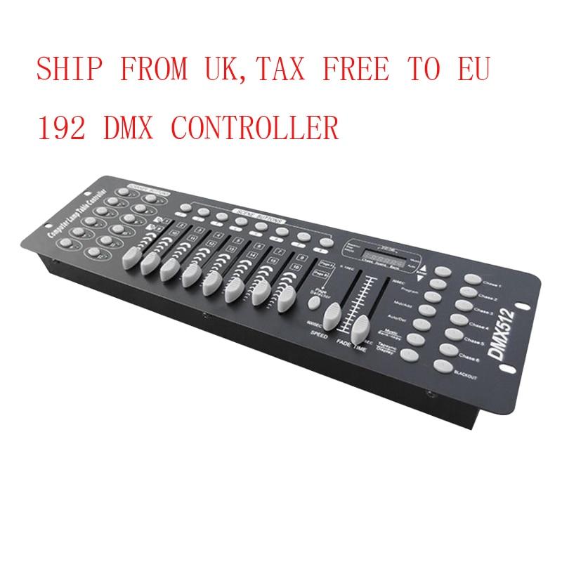 SAILWIN 192 DMX Controller Stage Lighting DJ Equipment 384 DMX Console for LED Par Moving Head Light Pilot2000 DJ Controller