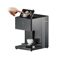 wifi version automatic biscuit cake coffee printer printing machine with brown color with CE
