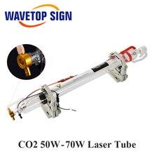 WaveTopSign Co2 Glas Laser Buis 1000mm 50W Glas Laser Lamp voor CO2 Lasergravure Snijmachine Markering Apparatuur onderdelen