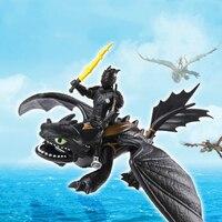 2019 Как приручить дракона 3 ПВХ Фигурки игрушки Hiccup Беззубик легкий яростный череп Gronckle Deadly Nadder ночной ягод игрушечный дракон