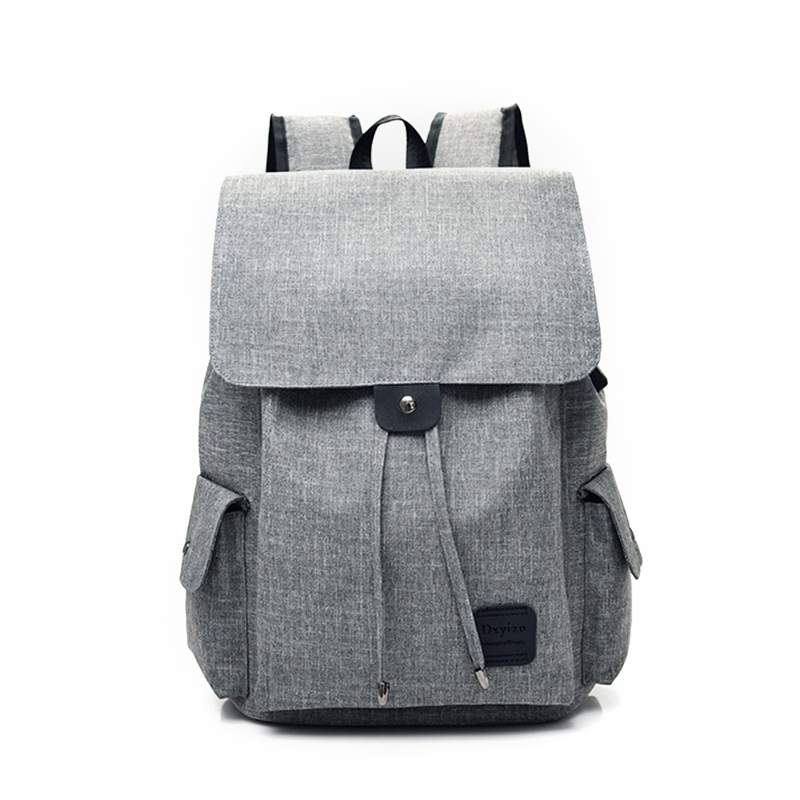 New Design USB Charging Men's Backpacks Male Casual Travel women Teenagers Student School Bags Simple Notebook Laptop Backpack 14 15 15 6 inch flax linen laptop notebook backpack bags case school backpack for travel shopping climbing men women