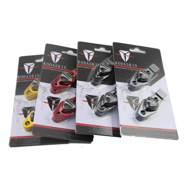 KODASKIN Углерода Продвижение Горячей Продажи Руль бар Зажим с Зеркалом адаптер Blcak Для Ducati Monster 796 696 695
