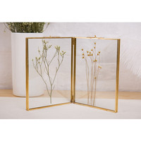 Photo Frame Metal + glass high definition Beautiful picture frame Home decoration accessories Gifts