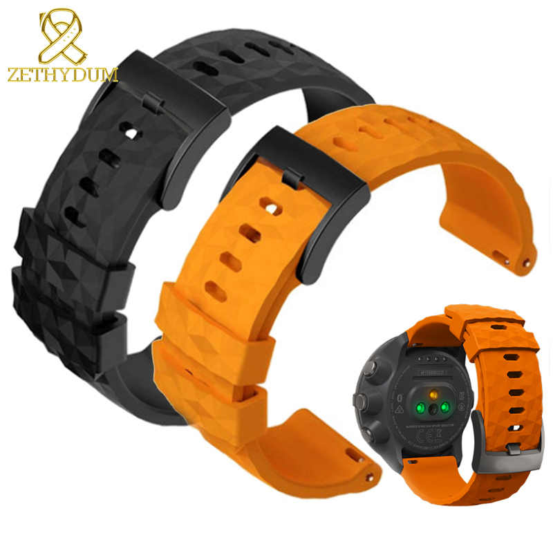 Ремешок для смарт часов из силиконовой резины спортивный ремешок 24 мм