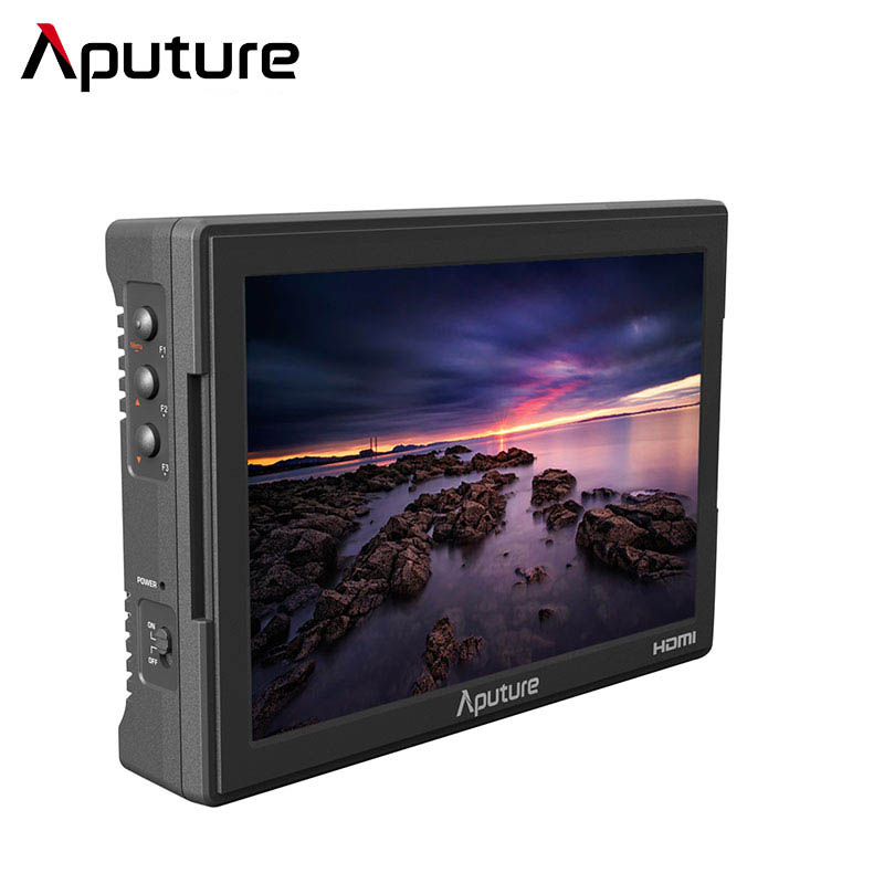 Aputure VS-5 7 Professional Multifunctional Camera Video Field Monitor 1920*1200 HD-SDI HDMI For Canon Nikon Sony A7s GH4 DSLR new aputure vs 5 7 inch 1920 1200 hd sdi hdmi pro camera field monitor with rgb waveform vectorscope histogram zebra false color
