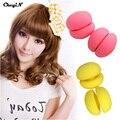 Mushroom Soft Sponge Hair Rollers Bendy Hair Curler Flexi Rods Sleep in Rollers Hairdressing Tool Random Color HS30-S5151
