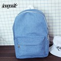 2017 Denim Jean Backpacks Women Shoulder Bags Retro Canvas School Daypack Teenager College Korean Mochilas Girl Boy Travel Packs