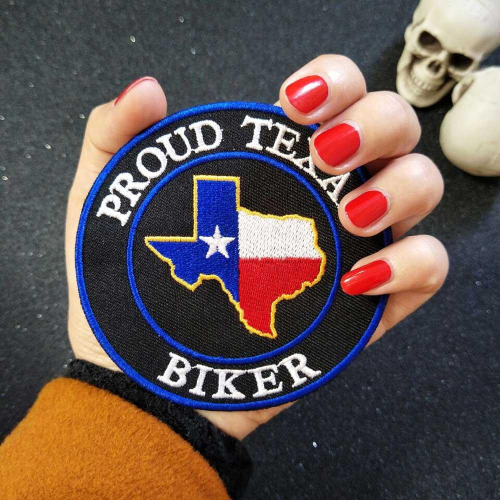 PROUD Texas Iron On Patch Ասեղնագործված - Արվեստ, արհեստ և կարի - Լուսանկար 2