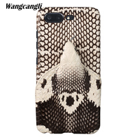 wangcangli Brand genuine snake skin phone case For Gionee S10 phone back cover protective case leather phone case