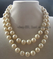 shippingsea south shell yellow round 12mm necklace 32 nature