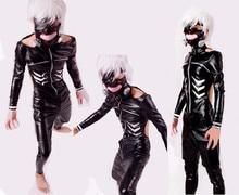 Anime Tokyo Ghoul Kaneki Ken Costume Cosplay Suit Jacket + pant