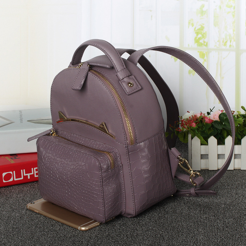 все цены на New Fashion Women Backpacks Women's PU Leather Backpacks Girl School Bag High Quality Ladies Bags Designer Women Backpack в интернете