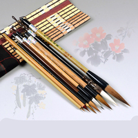 Chinese Traditional Brush Set Painting Landscape Drawing Painting Pen Brush 8 Lian Brush Writing Calligraphy Pen Set