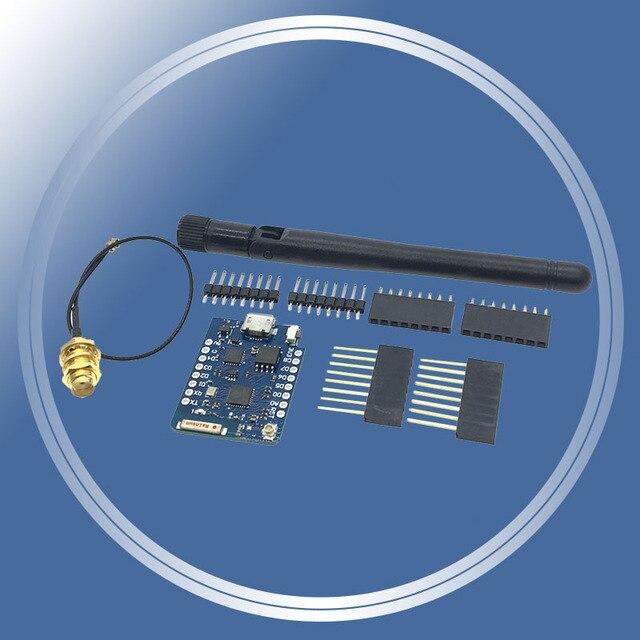WEMOS ため D1 ミニプロ 16 メートルバイト外部アンテナコネクタ NodeMCU ESP8266 ESP-8266EX CP2104 無線 Lan 開発ボードマイクロ USB