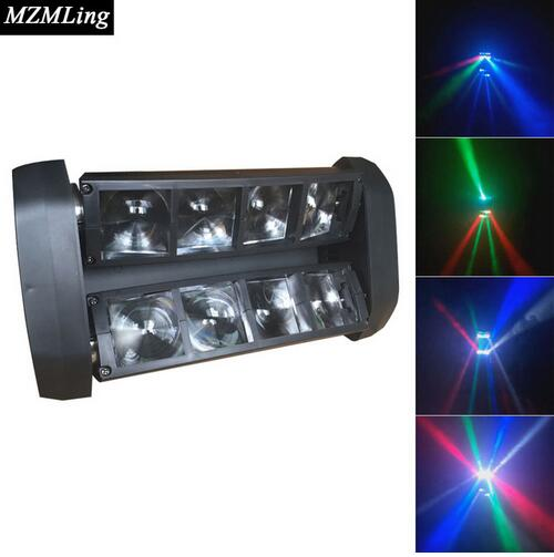 8*10w RGBW CREE Beam Light 8 Eyes Mini Spider Light DMX512 Moving Head Light DJ/Fest/Home / Bar /Stage /Party Light