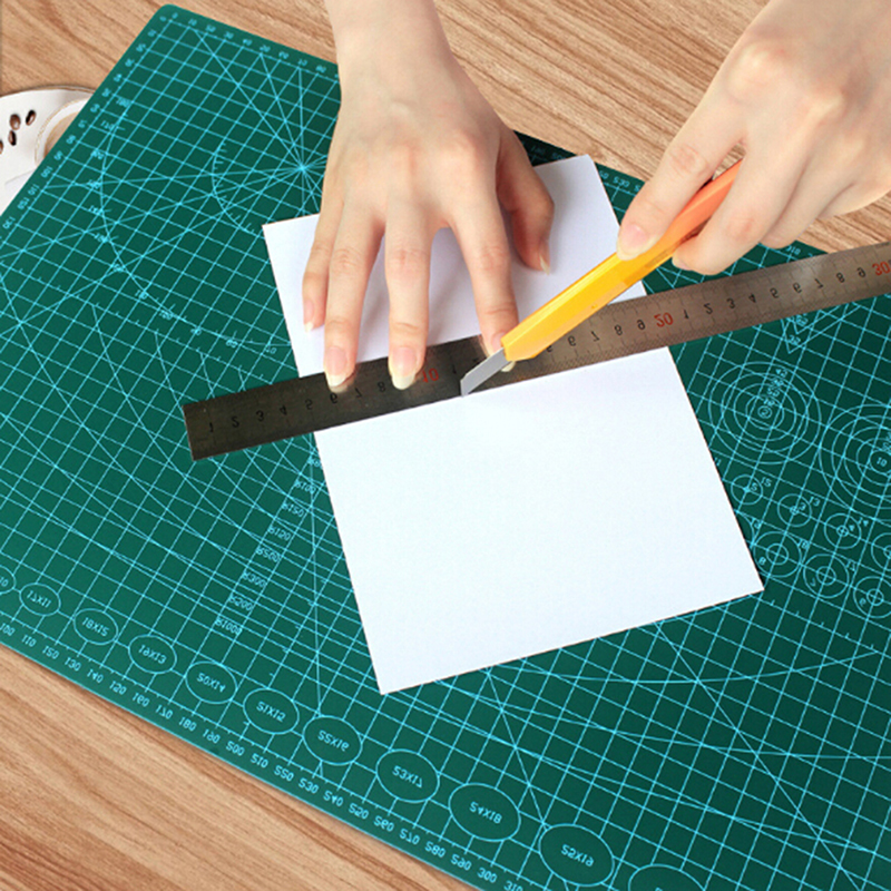 Diy Cutting Mat Pad Double Side Self-healing Fabric Leather Paper Craft Non Slip Cut Board Tools Craft Art Supplies Cutting Mats Cutting Supplies