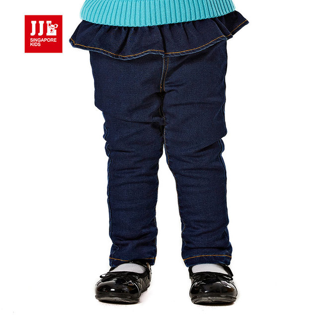 Baby Girls Jeans Designed Kids Pants Girls Ripped Pants Fashion