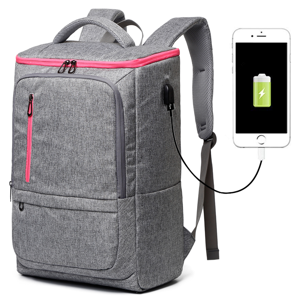 Luxury Large Laptop Backpack 17 17.3 Inch For Men Top Business Usb Backpack Bag Travel Male Feminina Back Pack 2018