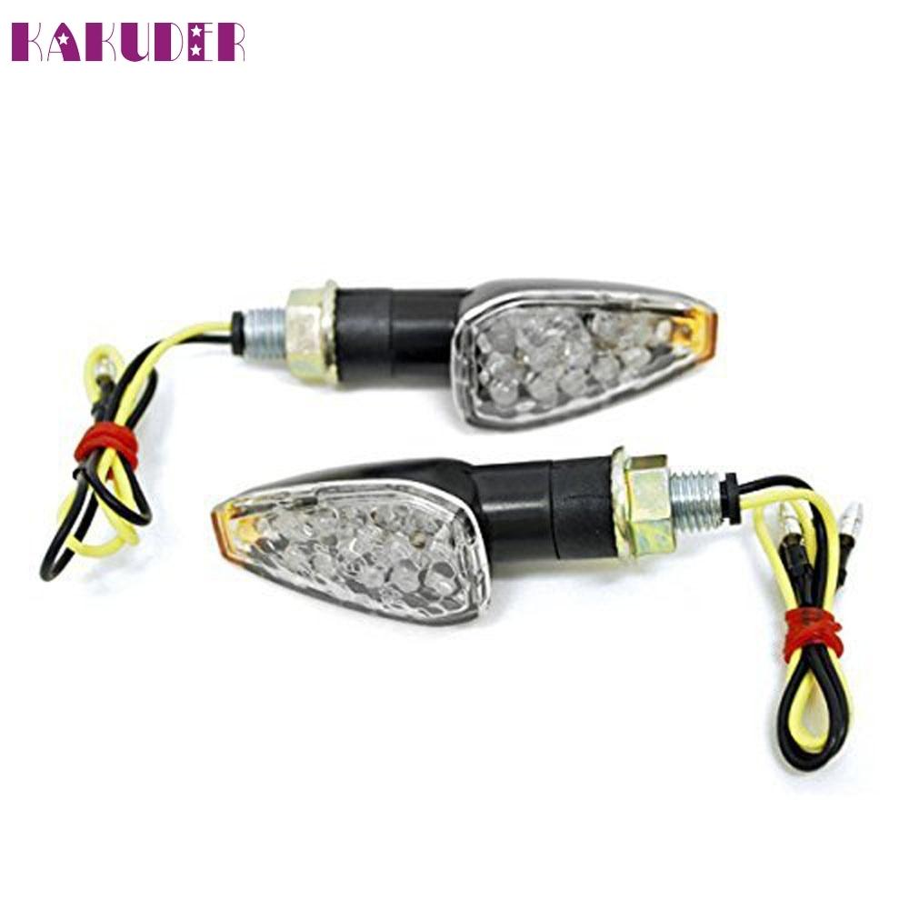 NEW 2pcs Mini Stalk Arrow Motorcycle LED Turn Signals Indicators Blinkers Lights Fit fashion hot L614