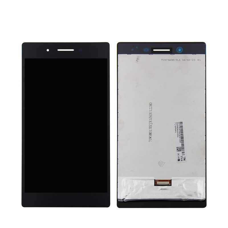For Lenovo TAB3-730 Tab 3 730 730F 730M 730X LCD DIsplay + Touch Screen Digitizer Assembly Black 7 for lenovo tab3 3 7 730 tb3 730 tb3 730x tb3 730f tb3 730m tab 730 touch screen digitizer lcd screen display assembly frame