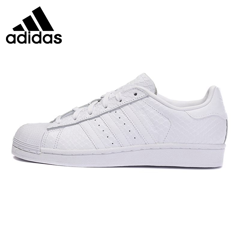 Original New Arrival 2016 Adidas Originals superstar w Women's Skateboarding Shoes Sneakers