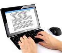 Teclado sem fio bluetooth e mouse para samsung galaxy tab s3 tablet teclado e suporte do mouse teclado