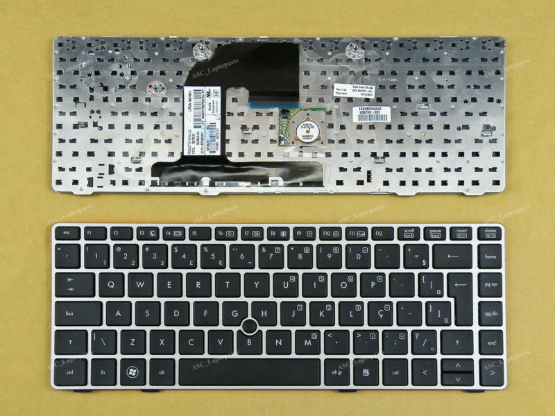 Wholesale HP US Black Keyboard for ProBook 6460b without pointer
