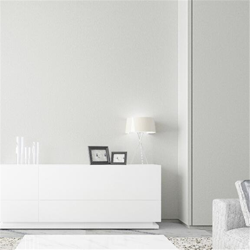 amusing plain white living room | beibehang Modern minimalist Scandinavian wallpaper living ...