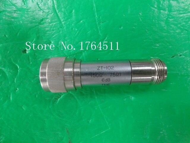 [BELLA] TME ZT-102 RF Coaxial Fixed Attenuator 6dB, 50: 75, N