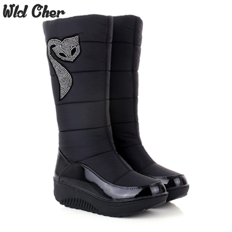 Popular Waterproof Snow Boots Women-Buy Cheap Waterproof Snow ...