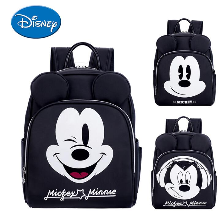 Disney Mickey Mummy Backpack Large Capacity Travel Maternity Bag Diaper Multifunctional Designer Nursing Bag For Baby Care