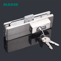 High Quality Up Clamp Patch Fitting For Tempered Glass Door Hardware