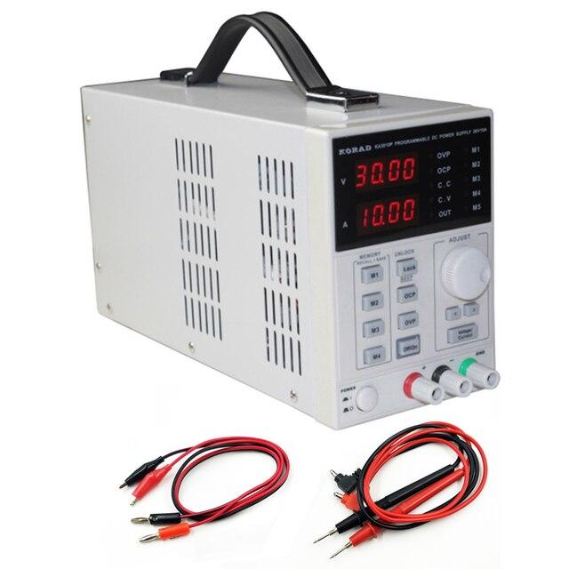 Korad ka3010p fonte de alimentação regulada programada de controle digital de temperatura constante dc com software de porta serial