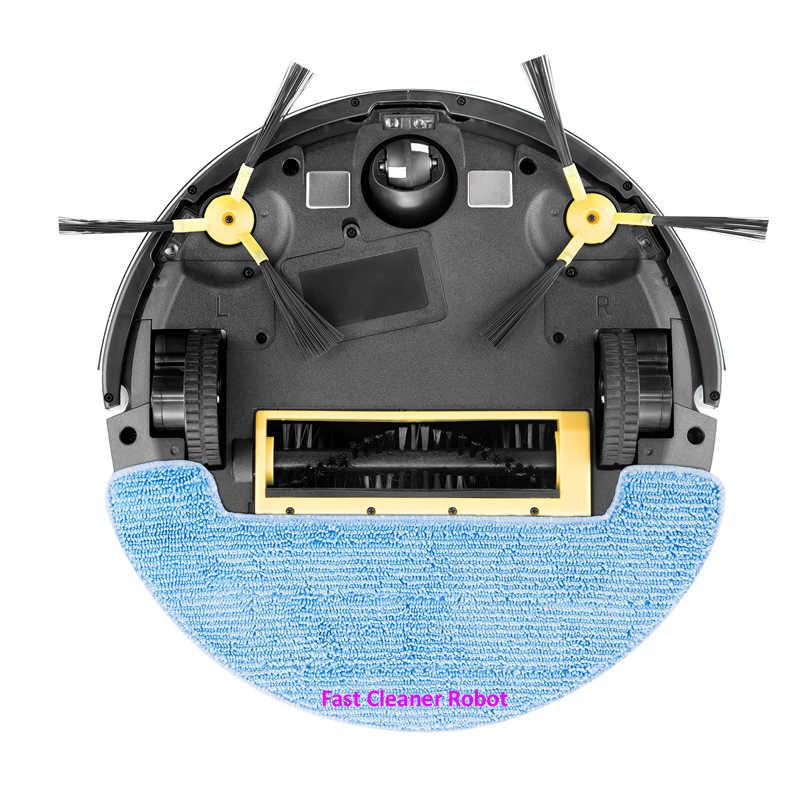 ¡Novedad! Robot aspirador inalámbrico con Monitor de vídeo para cámara, con Control de App WiFi, memoria inteligente, tanque de agua