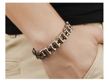 Motorcycle Chain Bracelet [8.46″]