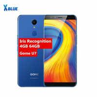 Original Gome U7 5.99inch 18:9FHD 3050mAh mobile phone MTK6757CD 13MP 4GB+64GB Android 7.1 OTG NFC Fingerprint 4G LTE SmartPhone